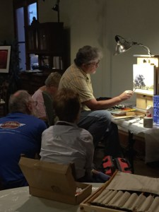 Michael Windberg's oil painting class at the Hallet Oak Gallery on Tuesday nights. Contact Michael to sign up!