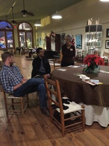 Friends of Hallettsville Downtown Revitalization meeting at the Hallet Oak Gallery!