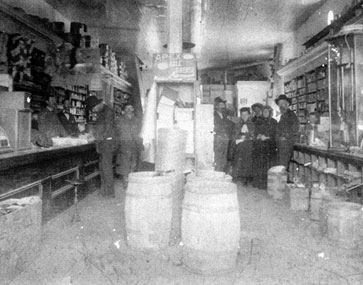 Historic Interior of Kahn & Stanzel Building.
