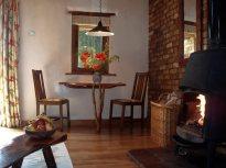Log burner for cosy evenings