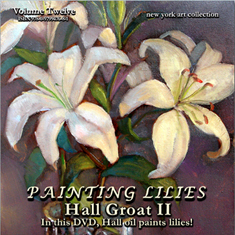 Oil Paint Lilies Video