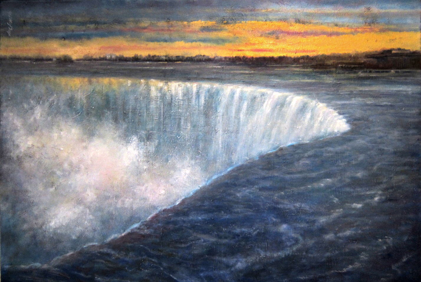 niagara-falls-oil-painting