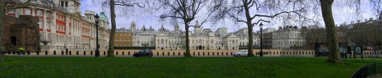 LONDON, UK - MARCH 30, 2006: Horse Guards Parade and Admiralty H