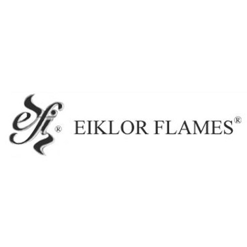 eiklor flames gas fireplaces at Halligans Hearth and Home