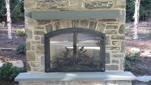 Halligans projects portfolio of fireplaces and outdoor kitchens