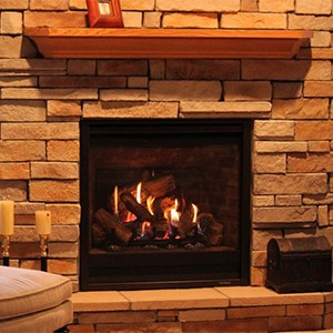 fireplace mantels at Halligans Hearth and Home
