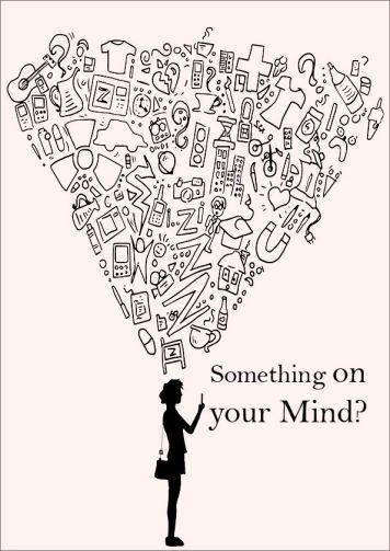 something on your mind