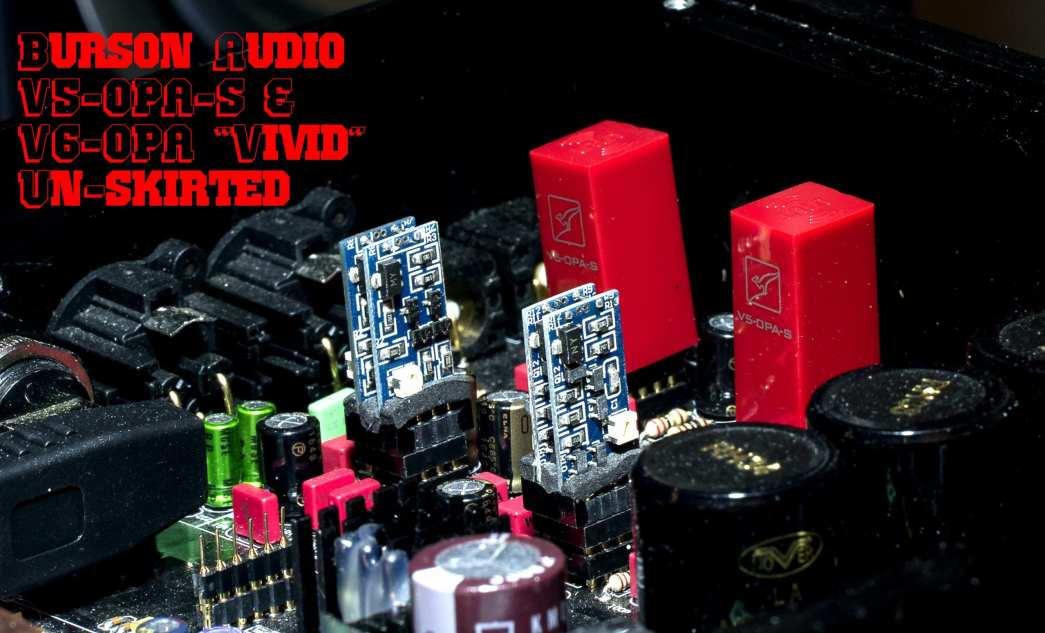 Burson Audio V5-OPA-S V6-OPA-D