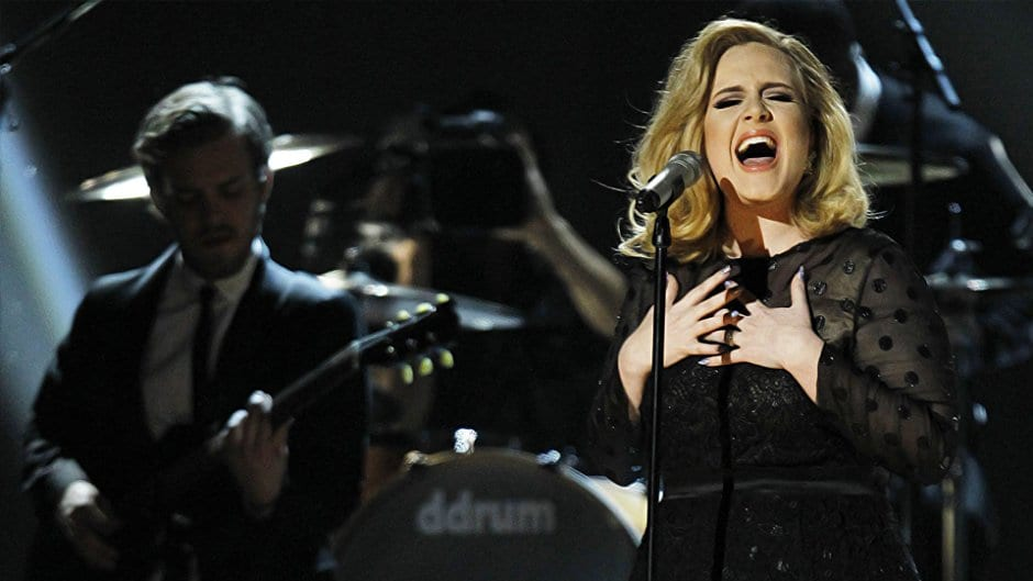 Adele Live at Royal Hall screen