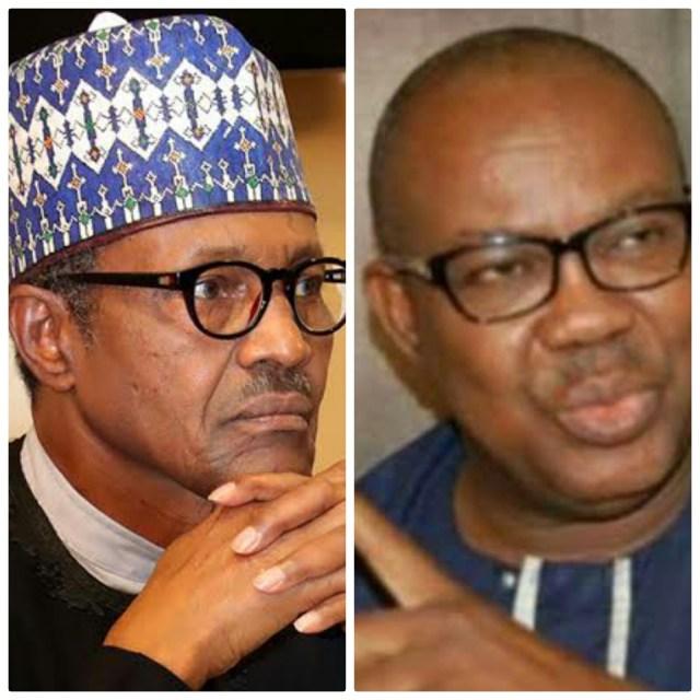 Elliot Uko and Muhammadu Buhari