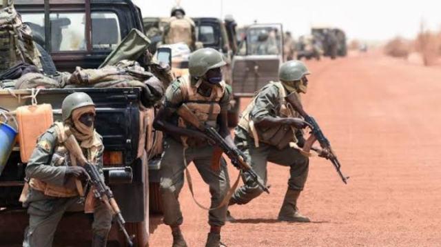 Malian troops