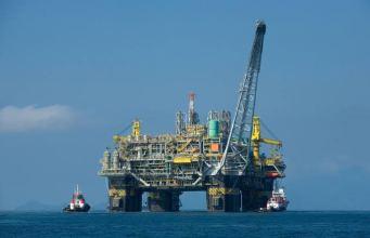 Deep Water Oil rig