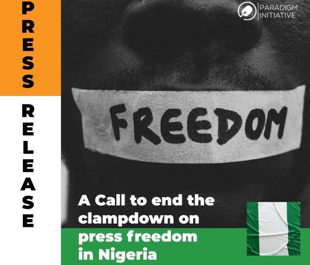 Paradigm Initiative calls for press freedom