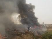Military plane crashes in Abuja