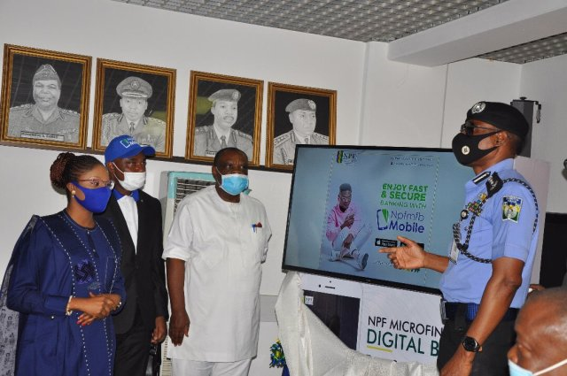 Mohammed Adamu launches Police Microfinance Mobile Banking App