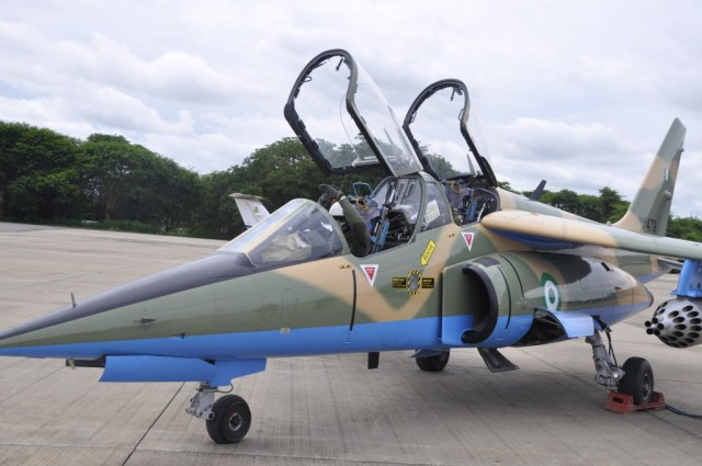 Nigerian Air Force jet goes missing