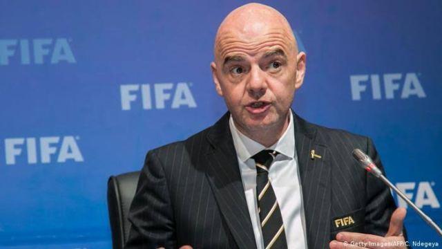 FIFA president, Giovanni Infantino