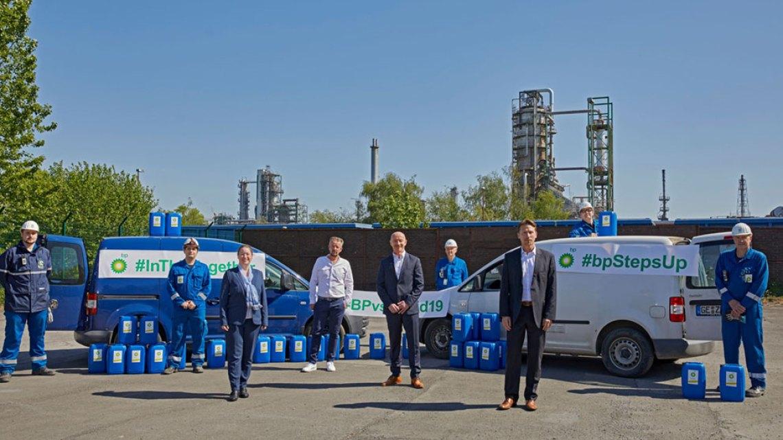 BP Ethanol-Spende