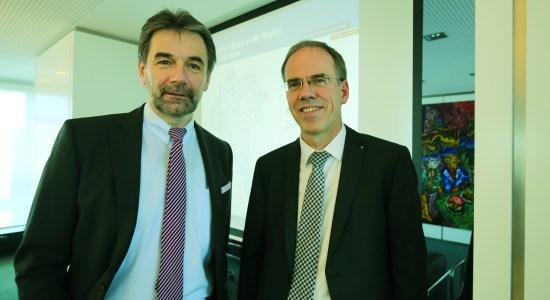 Dr. Peter Bottermann und Ingo Abraham