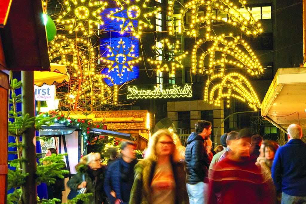 Der Weihnachtsmarkt in Buer –Archivfoto: André Przybyl