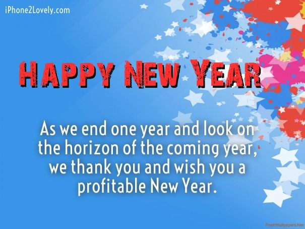 Happy New Year 2018 Quotes Business New Year Greetings
