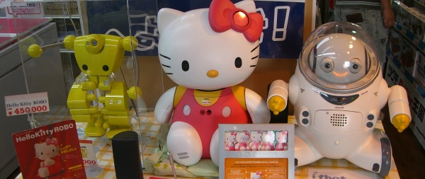 Hello Kitty Roboter