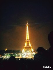 Tadaa! - The very iconic Eiffel Tower!