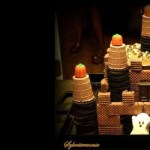 Halloween Ghost Castle Cake