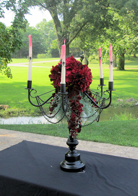 Creepy Candelabra by Decorating for Events