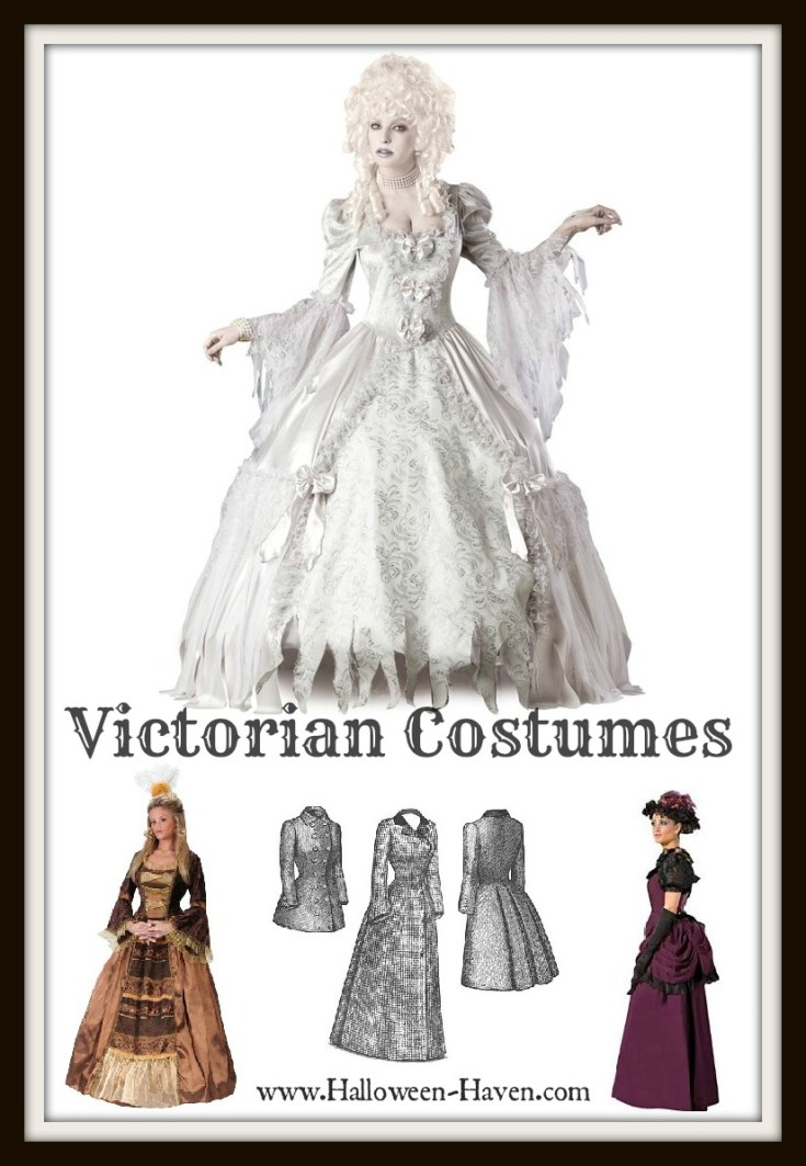 Victorian Costumes for Halloween