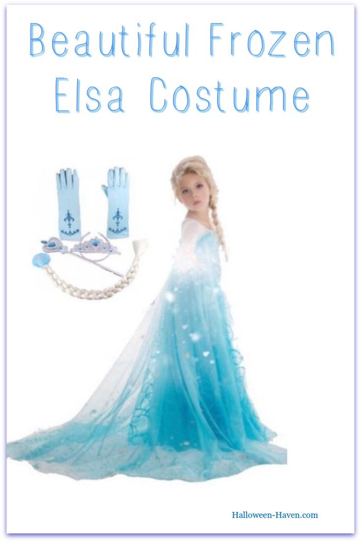 Frozen Elsa 5 Piece Costume