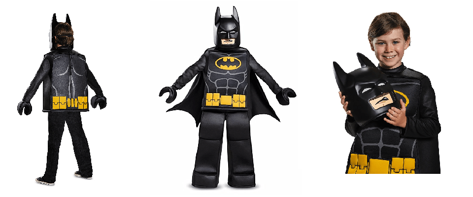 Lego Batman Costume for Boys