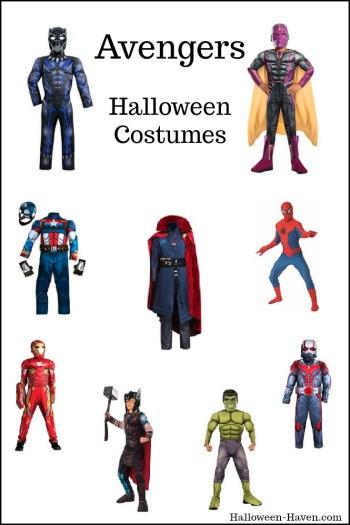 Avengers Costumes for Boys