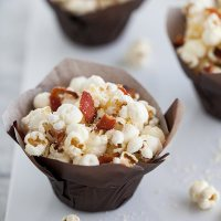 The Ultimate Gourmet Corn: Truffle Bacon Popcorn