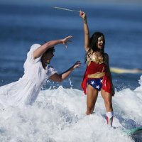 Santa Monica's Haunted Surf Costume Competition