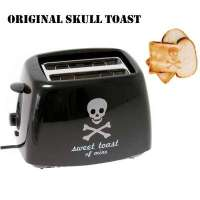 Cool Finds: Skull Toaster Burns a Skull and Crossbones in Your Toast