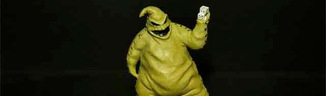 Oogie Boogie from 'The Nightmare Before Christmas' - Walgreens 2014 (photo by Matt Artz - HalloweenDailyNews.com)