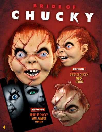 Trick or Treat Studios 2016 Catalog - Bride of Chucky