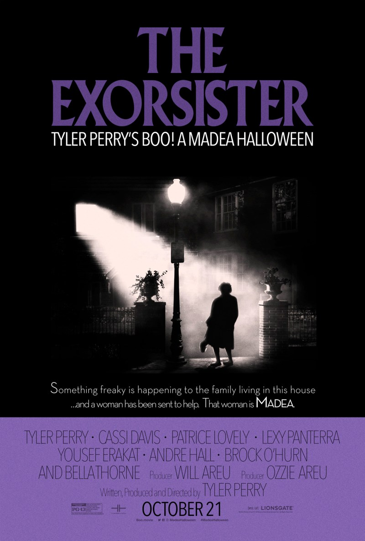 Boo A Madea Halloween - Exorcist poster