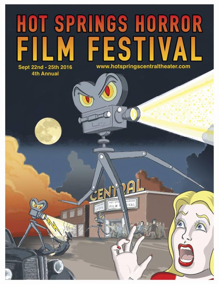 Hot Springs Horror Film Festival - 2016 poster