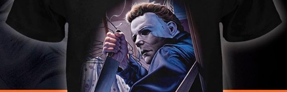 Michael Myers by Jason Edmiston shirt from Fright-Rags