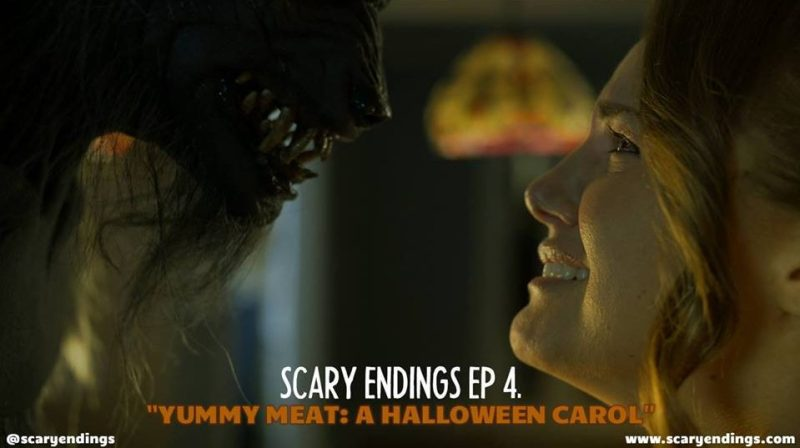 Scary Endings - Episode 4 - 'Yummy Meat - A Halloween Carol'