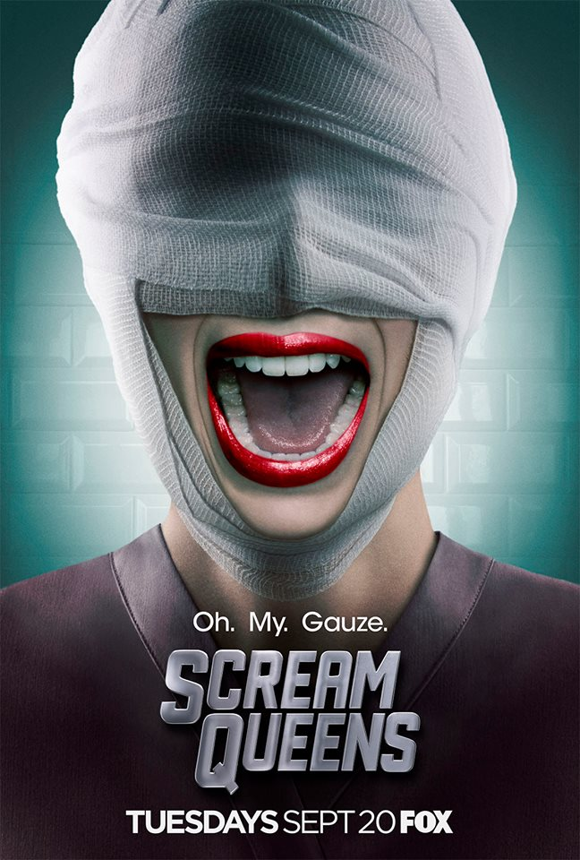 Scream Queens Season 2 - teaser poster 01