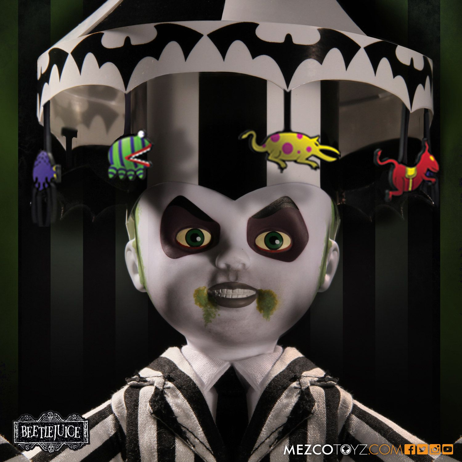 Showtime Beetlejuice - Living Dead Dolls -