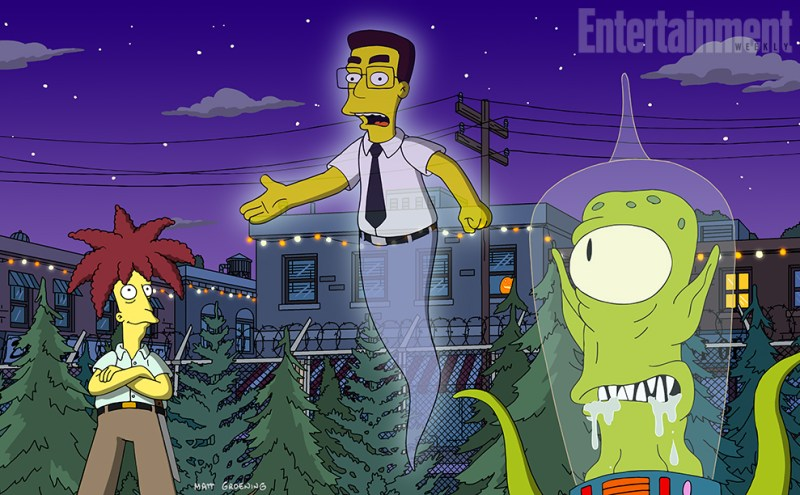 "'The Simpsons' 2016 Halloween episode ""Treehouse of Horror XXVII"" will resurrect the ghost of Frank Grimes."
