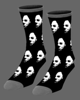 halloween-the-shape-socks-art-by-joe-guy-allard