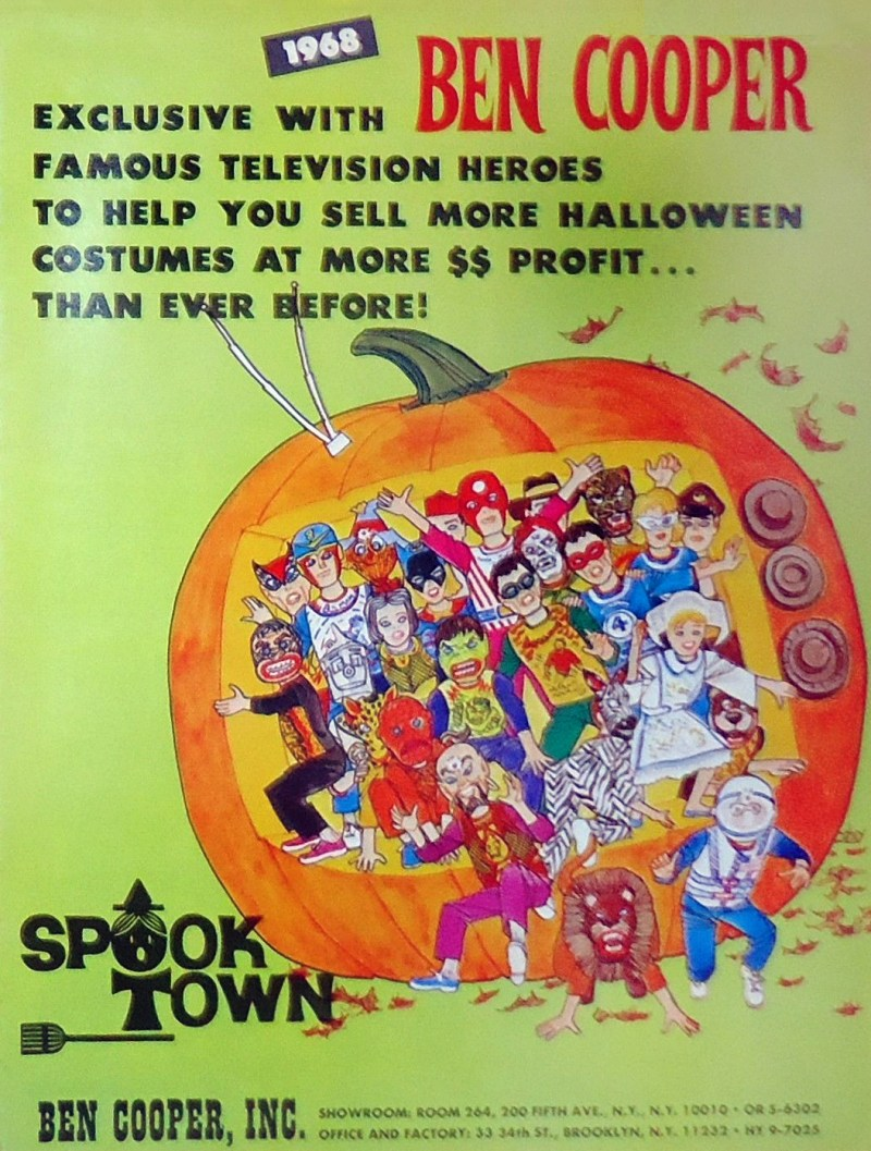 Ben Cooper Costumes 1968 catalog cover
