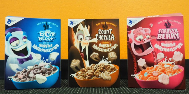 Monster Cereals 2017