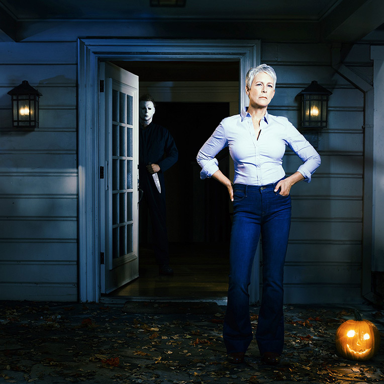Jamie Lee Curtis returns as Laurie Strode in 'Halloween' 2018!