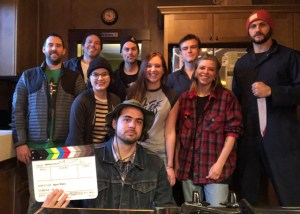 The first cast/crew shot from 'The Spirit of Haddonfield' fan film. (Halloween Daily News Exclusive)
